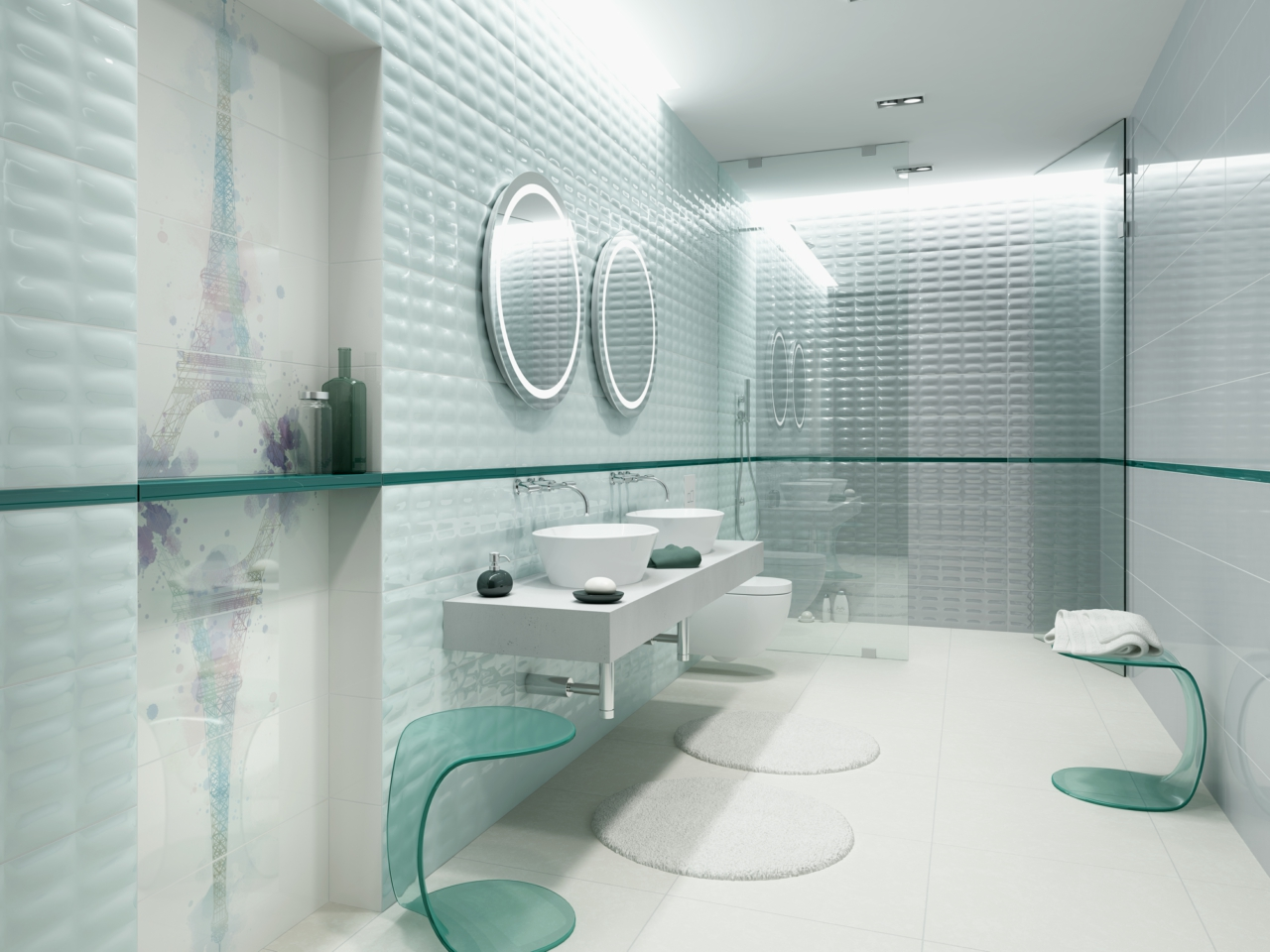 Parisen collection - bathroom tiles