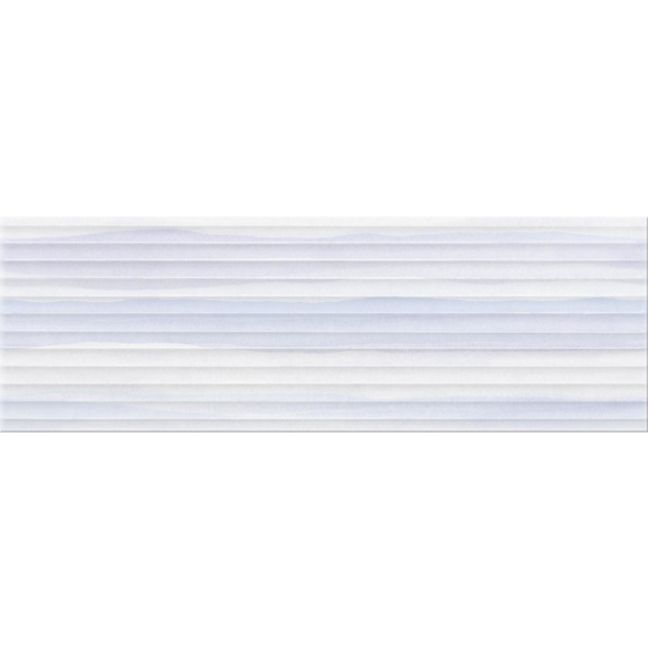 Artistico Stripes blue structure tile - 10 x 29.5 inches