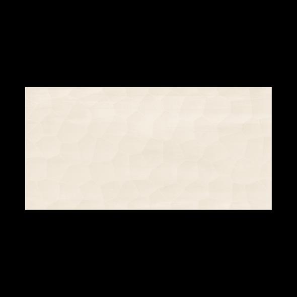 Calm Organic Cream Satin Structure ceramic tile 11.5X23.5