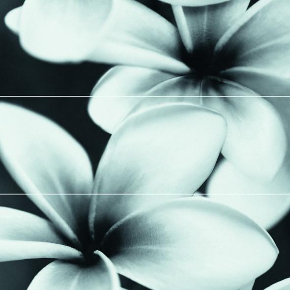 Pret-à-Porter Flower Grey Cosmopolitan decorative tile