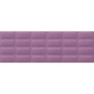 Violet Glossy Pillow Structure, glossy wall tile