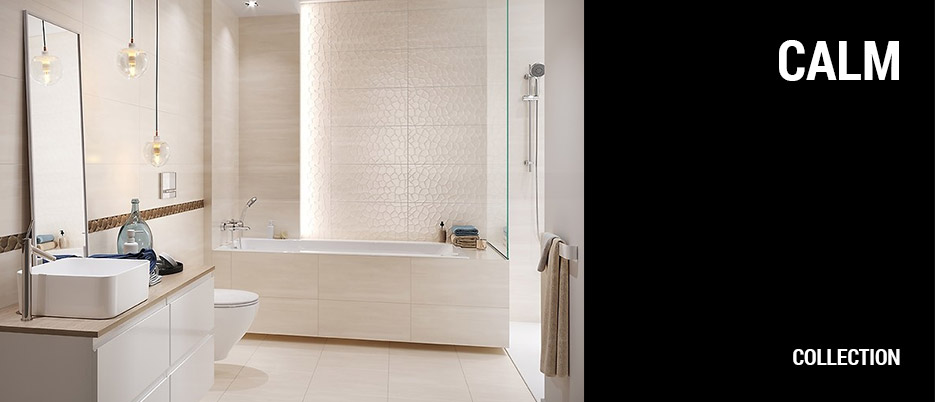 Calm organic Ceramic Tile Collection
