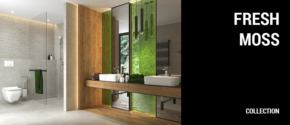 Fresh Moss Ceramic Tile Collection